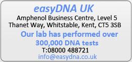 Para su total tranquilidad, hemos realizado más de 250.000 pruebas de ADN.